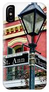 St. Ann And Chartres Nola  IPhone Case