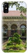 St Anthony Park Library IPhone Case by Mike Evangelist