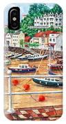 St Aubin's Harbour - Jersey IPhone Case