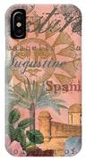 St. Augustine Florida Vintage Collage IPhone Case
