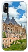 St Barbara Church Kutna Hora IPhone Case