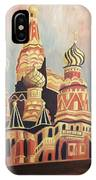 St Basil's Cathedral Moscow IPhone Case