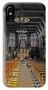 St. Catherine's Of Honfleur IPhone Case