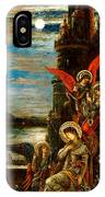 St Cecilia The Angels Announcing Her Coming Martyrdom IPhone Case