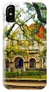 St. Charles Ave. Mansion Paint IPhone Case