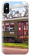 St. Charles Ave. Streetcar 2 IPhone Case