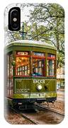 St. Charles Streetcar 2  IPhone Case