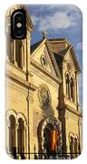 St. Francis Cathedral - Santa Fe IPhone Case