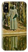 St. Francis In Nature IPhone Case