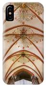 St Goar Organ And Ceiling IPhone Case