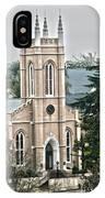 St. James Episcopal Church Wilmington North Carolina IPhone Case