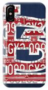 St. Louis Cardinals Baseball Vintage Logo License Plate Art IPhone Case