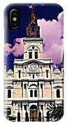 St Louis Cathedral In New Orleans IPhone Case