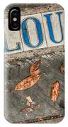 St Louis Street Tiles In New Orleans IPhone Case