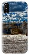 St Lucie Lock And Dam 3 IPhone Case