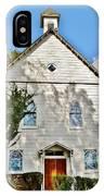 St. Luke African Methodist Episcopal Church - Ellicott City Maryland IPhone Case