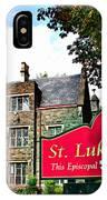 St Lukes Church IPhone Case