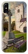 St. Marcellas Celtic Cross IPhone Case
