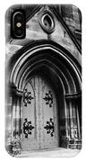 St Marys Cathedral Doors IPhone Case