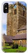St Mary's Church Conway IPhone Case
