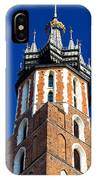 St. Mary's Church Tower IPhone Case