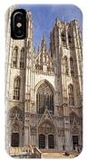 St Michael And St Gudula Cathedral IPhone Case