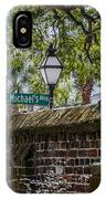 St. Michaels Alley IPhone Case