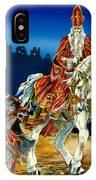 St Nicholas And Dark Peter IPhone X Case