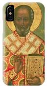 St. Nicholas IPhone Case