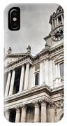 St Pauls Cathedral In London Uk IPhone Case