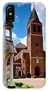 St Peters Catholic Church IPhone Case