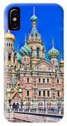 St Petersburg Church IPhone Case