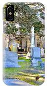 St. Philips Church Cemetery Charleston Sc IPhone Case