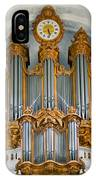 St Roch Organ In Paris IPhone Case