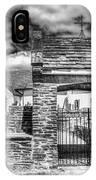 St Sannans Church Bedwellty 4 Mono IPhone Case