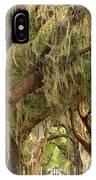 St Simons Island Oaks IPhone Case