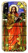 St. Stan's Stained Glass IPhone Case