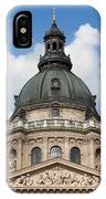St. Stephen's Basilica Dome In Budapest IPhone X Case
