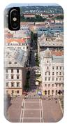 St Stephen's Square In Budapest IPhone Case