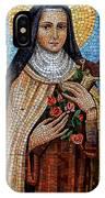 St. Theresa Mosaic IPhone Case