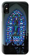 St Thomas Stained Glass IPhone Case
