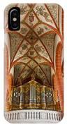 St Wendel Basilica Organ IPhone Case