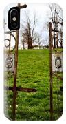 St. Xaviers Cemetery IPhone Case