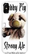 Stabby Pig Strong Ale IPhone Case