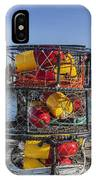 Stack Of Crab Pots IPhone Case