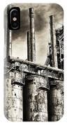 Stacks Of Steel IPhone Case