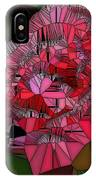 Stain Glass Rose IPhone Case