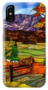 Stained-glass-beauty IPhone Case