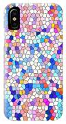 Stained Glass Colorful Cross IPhone Case