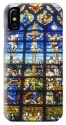 Stained Glass Crucifixion IPhone Case